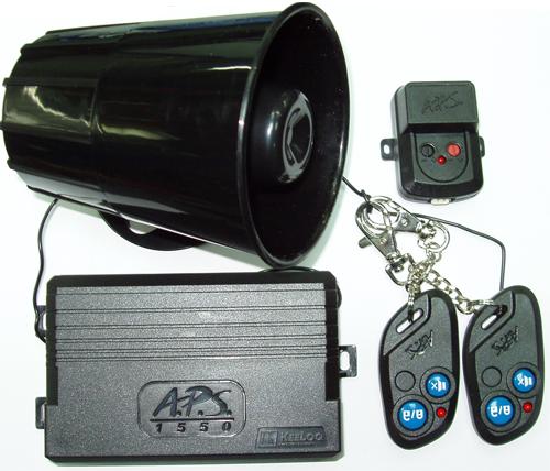Схема установки сигнализации