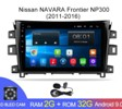 Магнитола Android 2G-32G Nissan NAVARA NP300  2011-