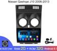 Магнитола Android 2G-32G Nissan Qashqai J10 2006-2013