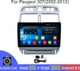 Android 2G-32G Peugeot 307 307CC 307SW