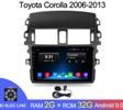 Магнитола Android 2G-32G Toyota Corolla E140/150 2007-