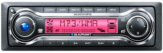 Магнитола Blaupunkt Key West MP-36