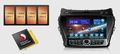 Магнитола FlyAudio G7127F01 - HYUNDAI SANTA FE 2012 Android 4.1