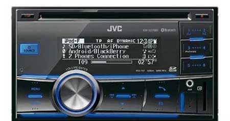 Магнитола JVC KW-SD70BT