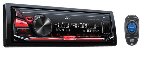 Автомагнитола JVC KD-X141 - фото 2
