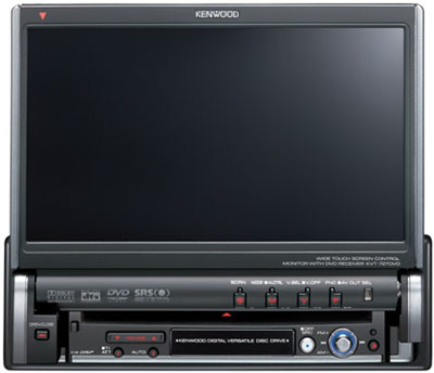 ��������� Kenwood KVT-727DVD