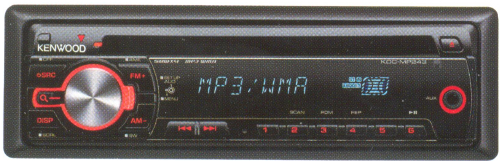 Магнитола Kenwood KDC-MP243