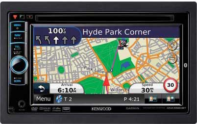 ��������� Kenwood DNX5580BT