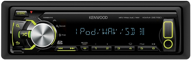 ��������� Kenwood KMM-357SD
