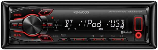 Магнитола Kenwood KMM-BT34