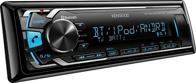 Магнитола Kenwood KMM-303BT