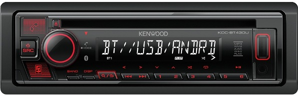 Магнитола Kenwood KDC-BT640U
