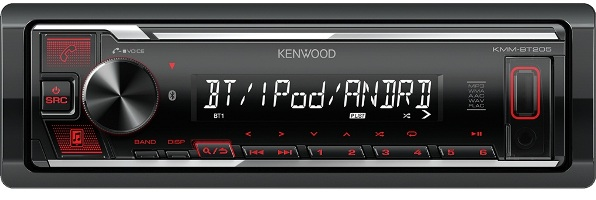 Магнитола Kenwood KMM-BT205