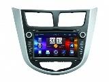 Магнитола NaviPilot DROID2 Hyundai Solaris 2010 -