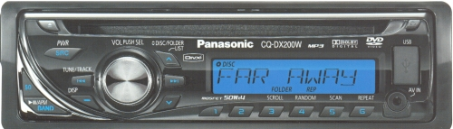 Магнитола Panasonic CQ-DX200W