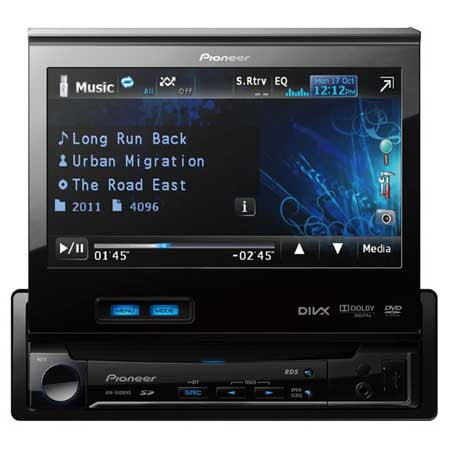 pioneer avh 5400dvd pioneer avh. Black Bedroom Furniture Sets. Home Design Ideas