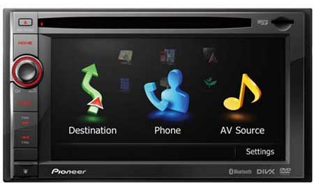 pioneer avic f940bt pioneer avic. Black Bedroom Furniture Sets. Home Design Ideas