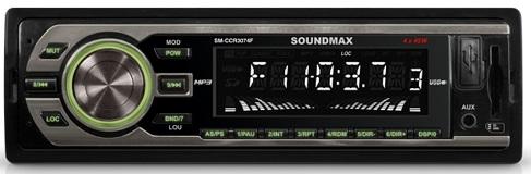 Автомагнитола SoundMAX SM-CCR3074F - фото 2