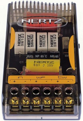 Hertz 2W10.3 Xover 2-way single woofer