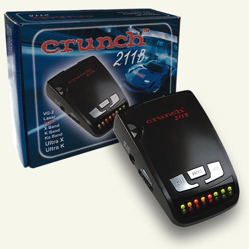 Антирадары Crunch 211B