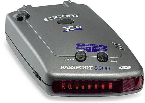 Антирадары Escort Passport 8500 X50