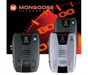 Антирадары Mongoose HD-200