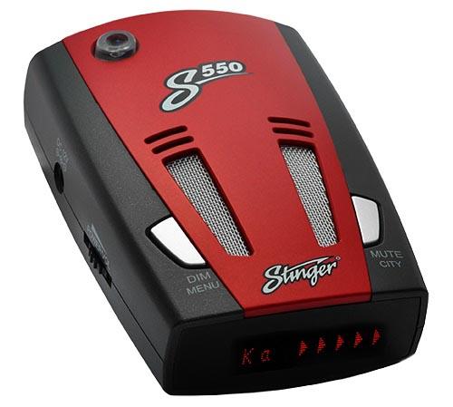 Антирадары Stinger S550