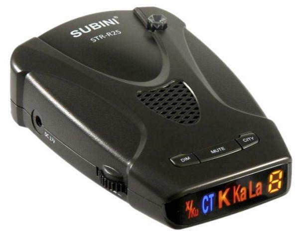 Антирадары Subini STR-R25