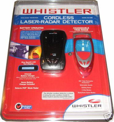 Антирадары Whistler XCS-800