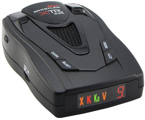 Антирадары Whistler XTR-335