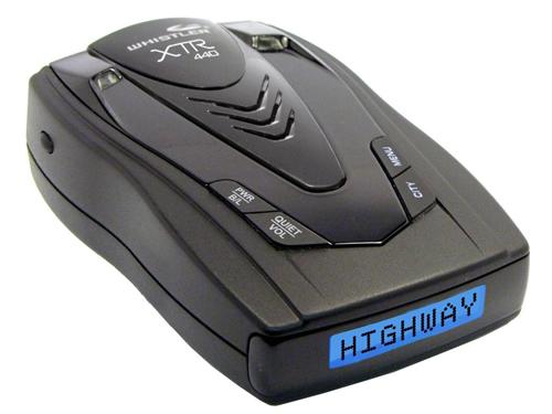 Антирадары Whistler XTR-440