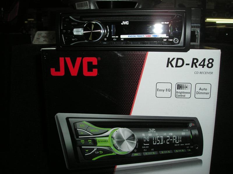 Фото автомагнитолы JVC KD-R48EE.