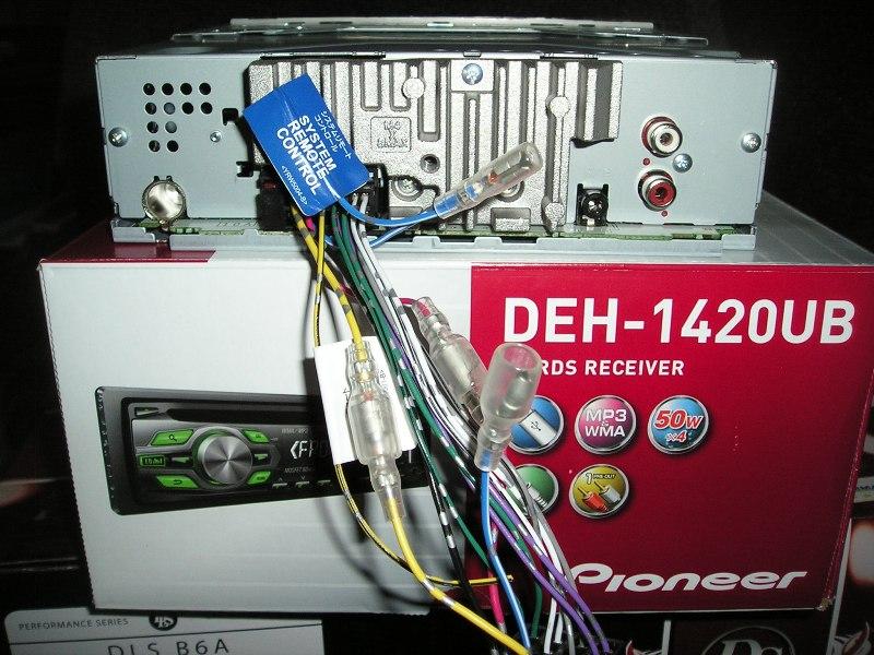 Pioneer DEH-1420UB.