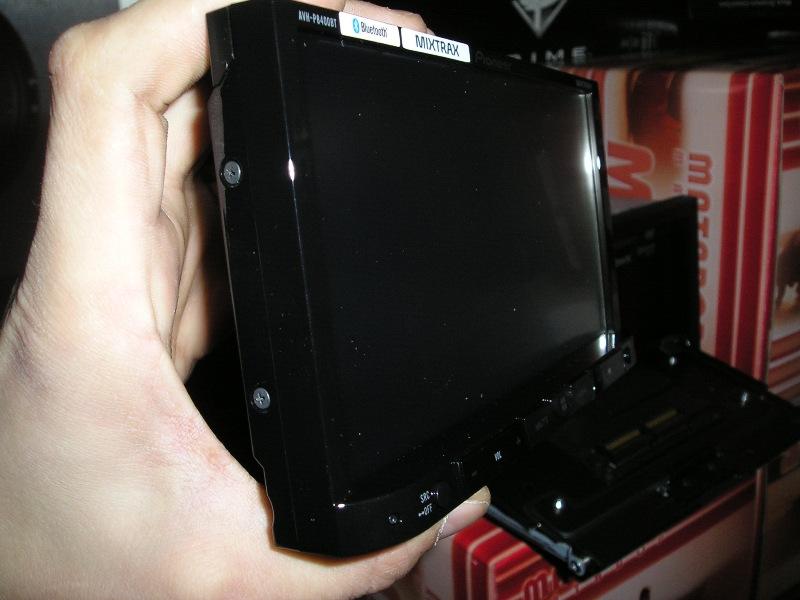 Сьемная панель Pioneer AVH-