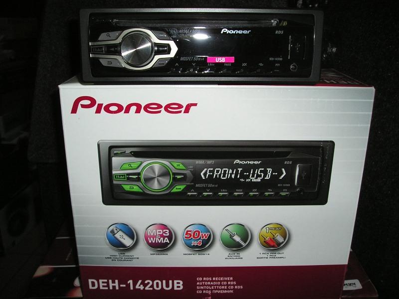 Автомагнитола Pioneer DEH1420UB Магнитола Pioneer DEH1420UB